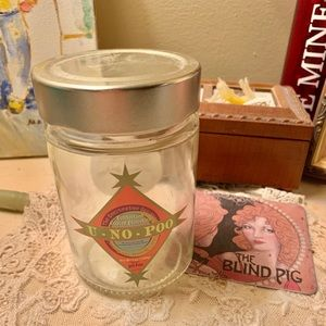 Empty candy jar from Wizarding world Theme Park